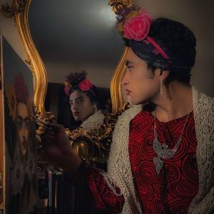 Mi version de Frida kahlo